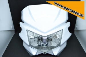 TRIUMPH Daytona 955i 1997-2003 Plaque TREK PLAQUE TREK BLANCHE