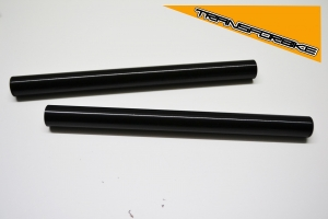 TRIUMPH Speed Triple 2005-2007 Tubes Demi Guidon Tubes (x2) Noir