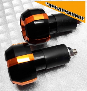 KTM DUKE 125 250 390 2017-2019 EMBOUTS GUIDON EMBOUT FB OR