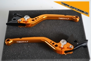 KAWASAKI NINJA 250R 2008-2012 Leviers LRacing LOG