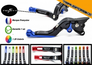 DUCATI 1199 PANIGALE/S/TriC 2012 - 2015 Leviers FlipUp FNBleu